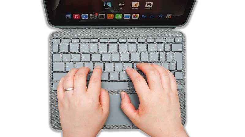 iPadのキーボード